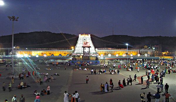 Tirupati Balaji Temple Architecture