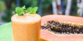 papaya shake benefits