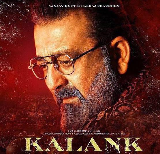 sanjay dutt in kalank movie
