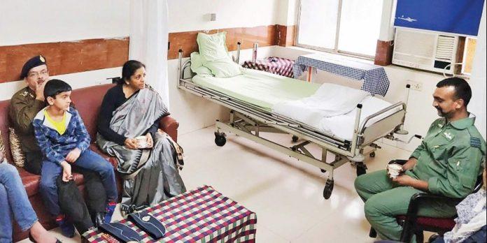 wing commander abhinandan in rr hospital