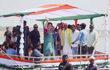 priyanka gandhi in loksabaha election 2019