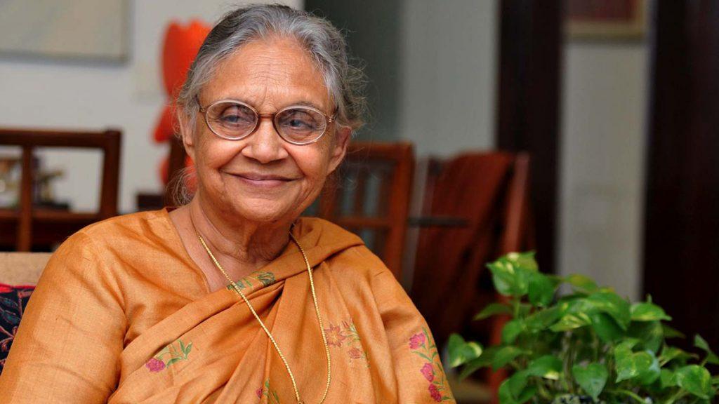 Sheila-Dixit- सबसे अधिक दिनों तक राज करने वाले मुख्यमंत्री